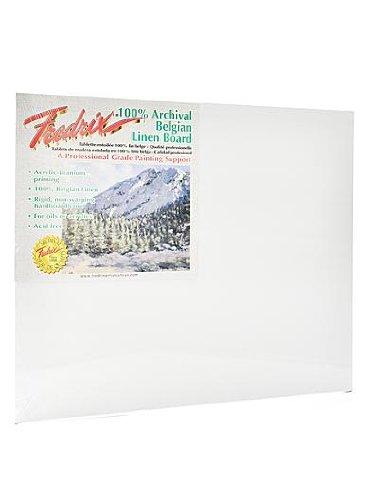 Fredrix Archival Linen Canvas Boards 11 in. x 14 in. [PACK OF 2 ]