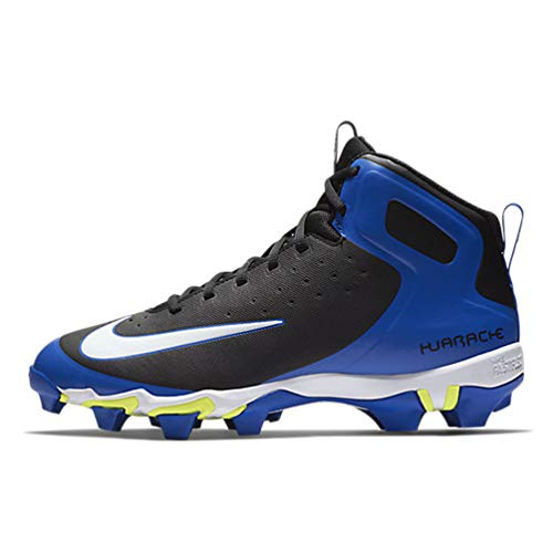 Nike Men's Huarache 2KFilth Keystone Mid Baseball Cleat (13, Game Royal/Black/White) ()