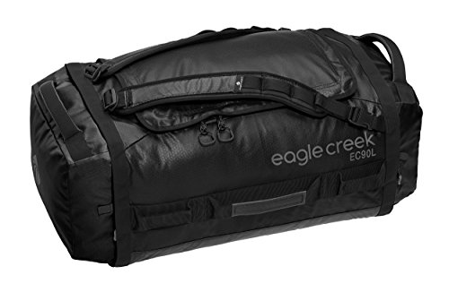 - Eagle Creek Backpacker Cargo Hauler Duffel 90L (Black, Large)