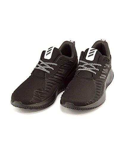 黒信頼性ほんの[アディダス] adidas レディース メンズ ランニングシューズ スニーカー アルファ バウンス RC 通気性 クッション性 カジュアル デイリー ストリート スポーツ ALPHA BOUNCE RC B42653