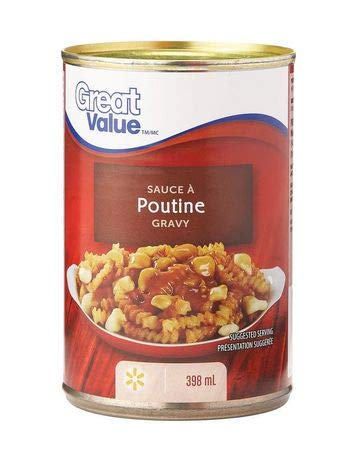 Great Value Poutine Sauce 398ml, Imported from Canada}