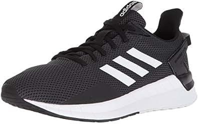 adidas Originals Men's Questar Ride Running Shoe, Black/White/Carbon, 8 M US