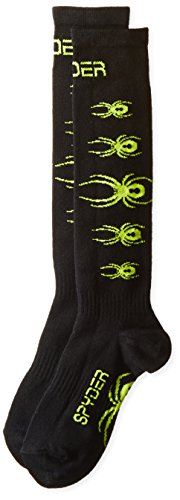 Spyder Boys Big Bug - Spyder Boys Bug Out Socks, Medium, Black/Theory Green