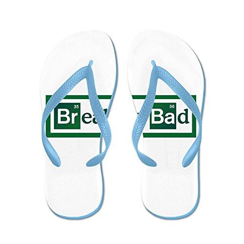 Cafepress Breaking Bad - Flip Flops, Roliga Rem Sandaler, Strand Sandaler Caribbean Blue