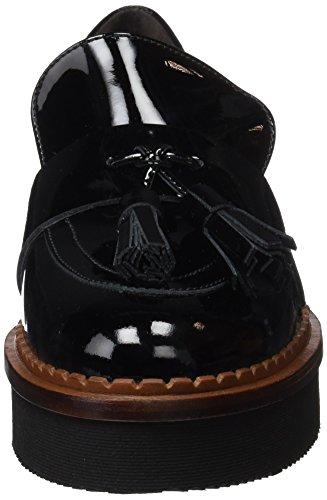 Negro Charol Moccasins Women's Black Gadea Black Charol 40817a U5Y6w