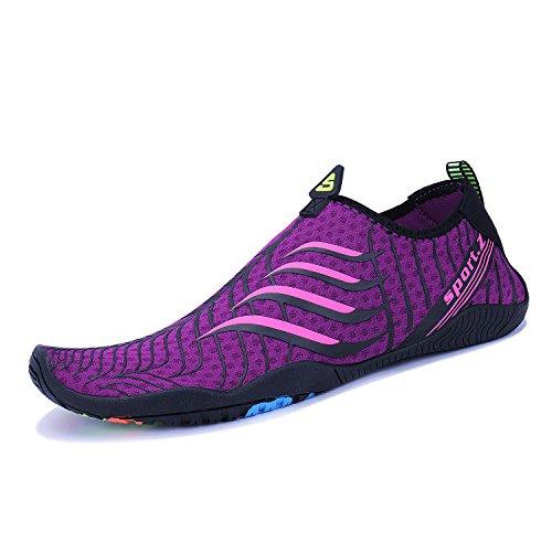 Deportes WYSBAOSHU Zapatos de para Mujer Agua Escarpines p 2 Hombre qgPgrtTn