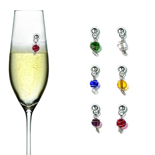 Going Stemless Greenwich Vibrant Jewels - Wire-Wrapped Gl...