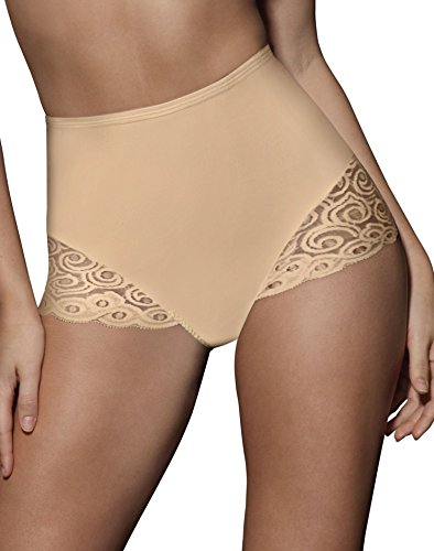 (Bali Women's Brief With Lace Firm Control 2-Pack)