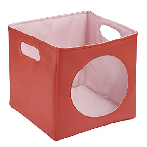 ECR Softzone Peek-A-Boo Storage Bin, Red