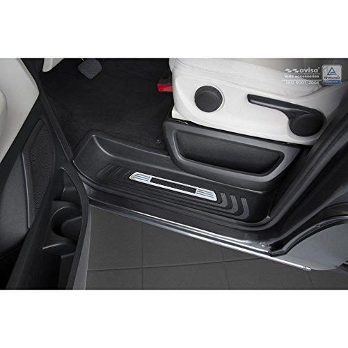 Autostyle 2//13004 Seuils de Portes Inoxydable Frames Argent Set de 3