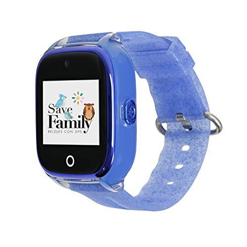 🥇 Reloj con GPS para niños Save Family Modelo Superior Acuático con Cámara. Smartwatch con botón SOS