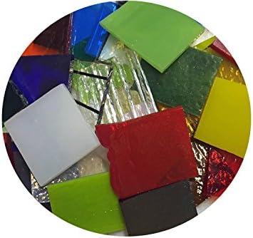 End Cut Bullseye Glass Sampler Pack 90 COE 1//4 pound Bag
