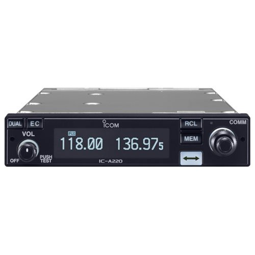 (Icom IC-A220 Panel Mount VHF Airband Transceiver )