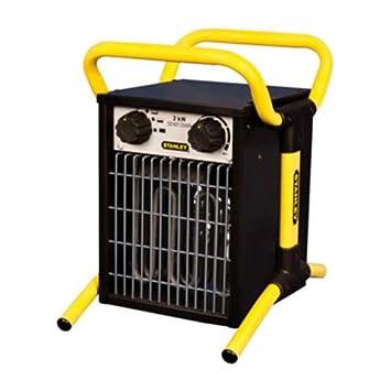 Stanley ST-02-230-E - Calentador eléctrico industrial/turbo