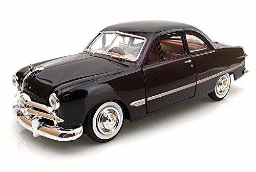 1949 Ford Coupe, Burgundy - Showcasts 73213 - 1/24 Scale Diecast Model Car (Brand New, but NO BOX)