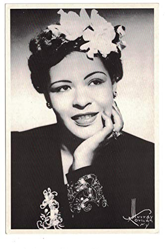 Billie Holiday c 1949 Postcard