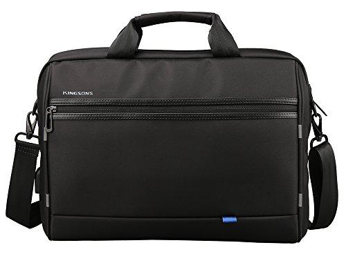 Kingsons Laptop Briefcase 15.6 Inch Messenger Bag Business bag Office Bag Laptop Bag for Men Women, Waterproof Stylish Multi-functional Shoulder Bag fit for Notebok Macbook Hp Dell by Kingsons