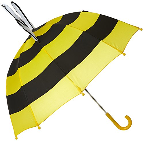 Kidorable Girls' Bee Umbrella, Yellow, One Size