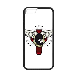 Custom Angel Design Rubber TPU Case for iPhone 6 4.7