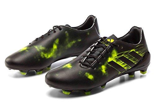 adidas Crazyquick Malice FG - Botas de fútbol para Hombre, Negro - (NEGBAS/NEGBAS/AMASOL) 40 2/3