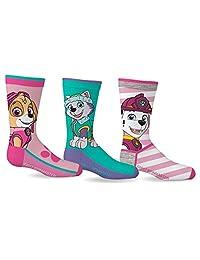 Paw Patrol Girls Sport Socks 3 Pairs Size 5-7