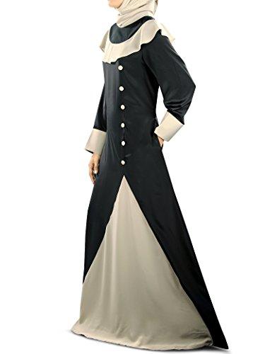 amp; traditionellen amp; Party schwarz tragen burqa muslimischen grau eid MyBatua aabay 323 AY 5wgAq8g