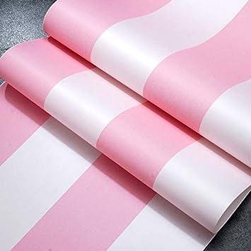 Tapeten Rosa Vertikale Streifen Tapete Madchen Schlafzimmer