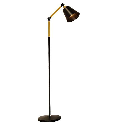 First lámpara de pie Lámpara de pie Moderna Cubierta de Lino ...