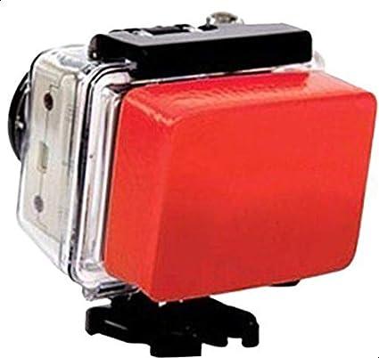 4 in 1 Water Sports Combo for GoPro – Floaty Bobber / 360 Degree adjustable Rotating Wrist Strap/Anti Fog insert/Floaty Sponge