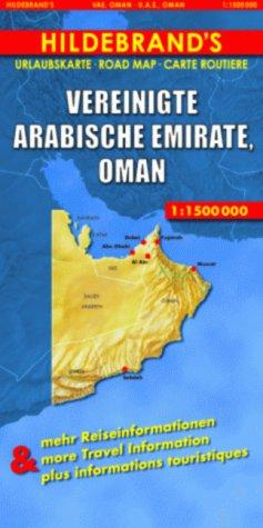 Hildebrand's Travel Map: United Arab Emirates/Oman (Hildebrand's Asia Maps)