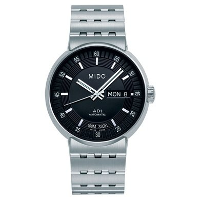 Mido All Dial Automatic Black Dial Stainless Steel Mens Watch M833041813