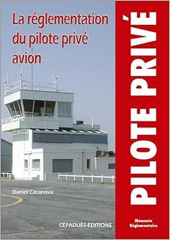La règlementation du pilote privée pdf