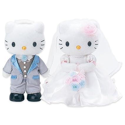 Hello Kitty Wedding Plush Set M