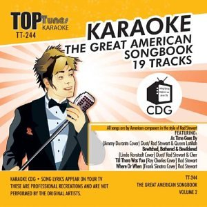 Top Karaoke Tunes - Top Tunes Karaoke TT-244 American Songbook Vol 2; Rod Stewart, Johnny Mercer and Martha Tilton