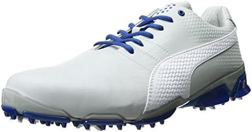 PUMA Men's Titantour Ignite Golf Shoes, Gray Violet Puma