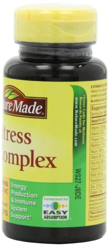 031604027254 - Nature Made Stress B Complex with Zinc Tablets, 75 Count carousel main 3