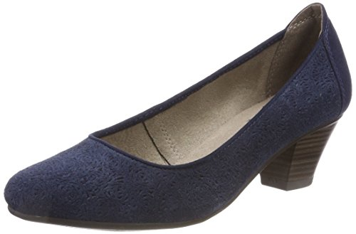 Jana Damen Pumps Blau Navy 22301 881xq6wpr