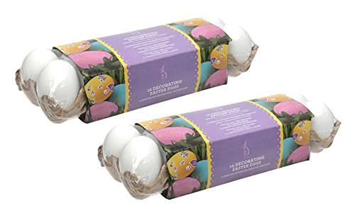 Merry Art Dyeable Decorating Easter Eggs, 24-Pack -