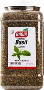 Badia Basil Leaves Whole 24 oz