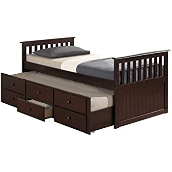 Amazon Com Broyhill Kids Marco Island Captain S Bed With Trundle