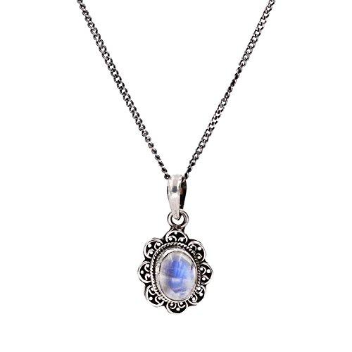 Moonstone Gemstone Pendant - 6