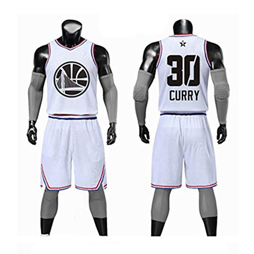 Camiseta De Baloncesto NBA Fan Jersey All-star Stephen Curry/Kevin ...