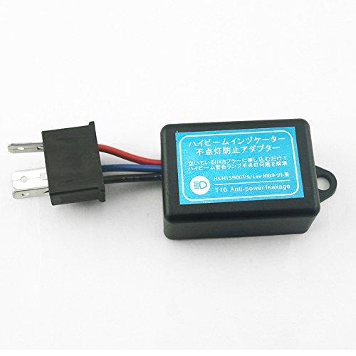 FEELDO DC12V Car H4 HID NO Error Warning Canceller Anti-Power Leakage Module Load Resistor NO Flickering