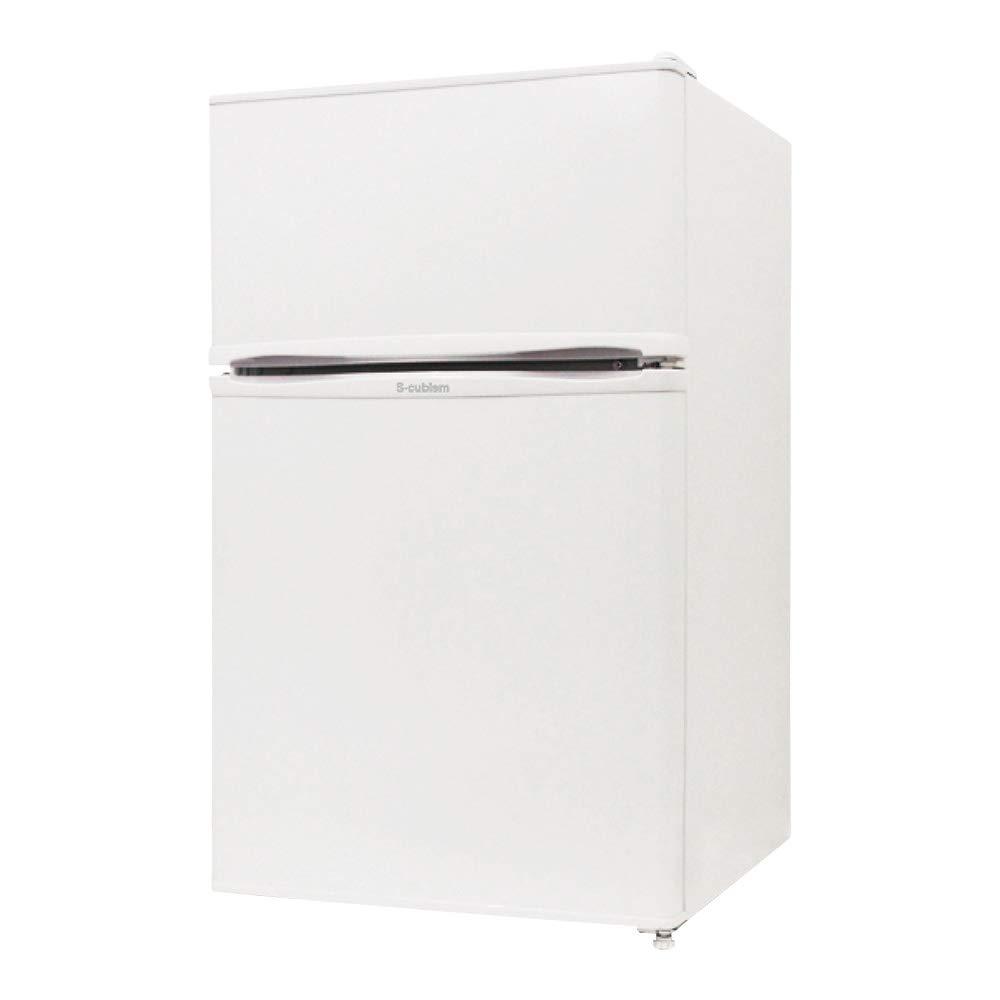 左右両開対応 2ドア冷凍冷蔵庫 90L Trinityシリーズ   B07PLWKDST