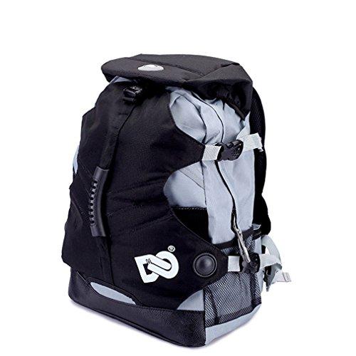 Soft Professional Inline Skates Travel Backpack (BLACK)