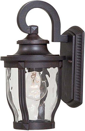 Minka Lavery Outdoor Wall Light 8761-166 Merrimack Aluminum Exterior Wall Lantern, 100 Watts, Bronze