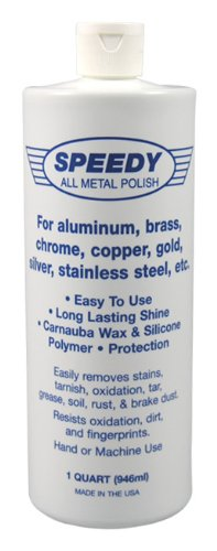Speedy Metal Polishing Compound Bottle