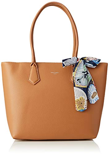 Bolsos Cm5071a Jones cognac Marrón Totes David Mujer gZ76wCq
