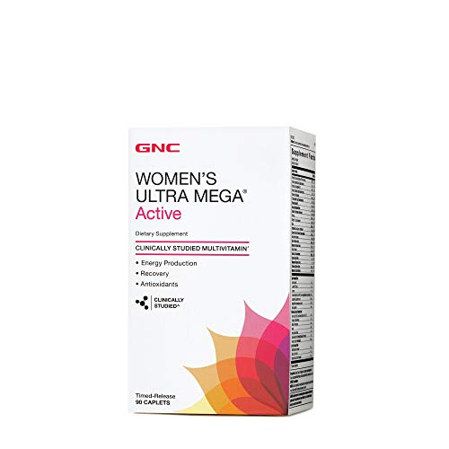 GNC Ultra Mega Active - 90 Caplets