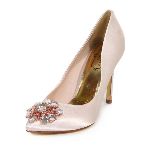 exquisite style fashion styles vast selection Ted Baker Women's Torela Satin Jewel Encrusted High Heel Court ...